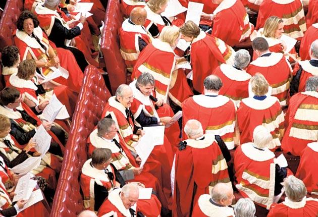 Twenty MPs are expected to call for the peers in question to lose their titles