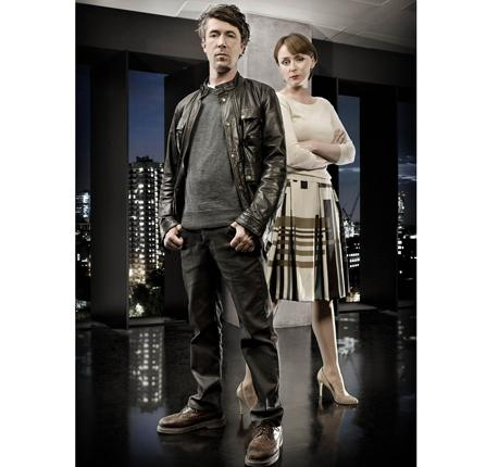 Dark forces: Aidan Gillen and Keeley Hawes combat identity theft in the new ITV drama series Identity