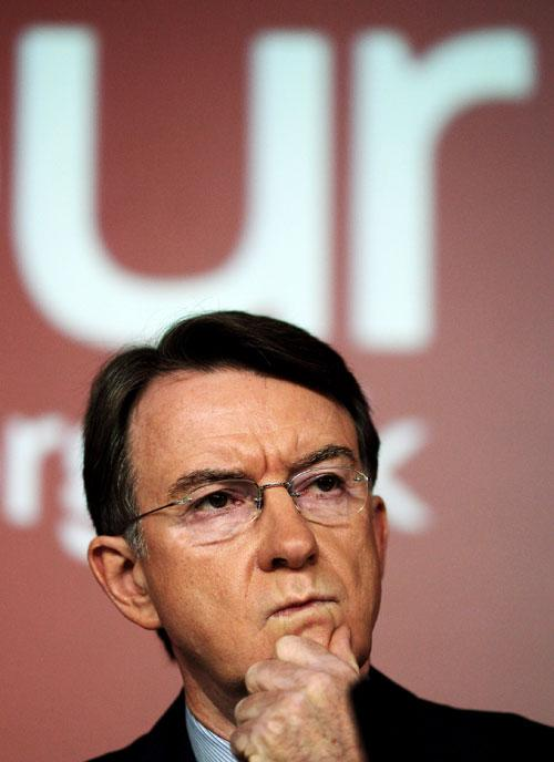 Tony and Gordon became prime ministers, Lord Mandelson was far too important for any of that