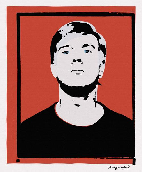 A 1964 self-portrait, reportedly by Andy Warhol, and owned by Joe Simon-Whelan