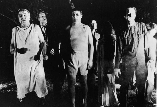 Granddaddy of the genre: Zombies from the 1968 film 'Night of the Living Dead'