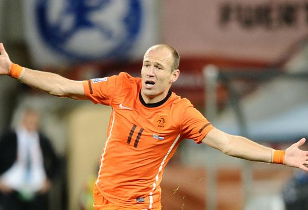 'The intent is there to play good football but the result is far more important,' says Holland's Arjen Robben