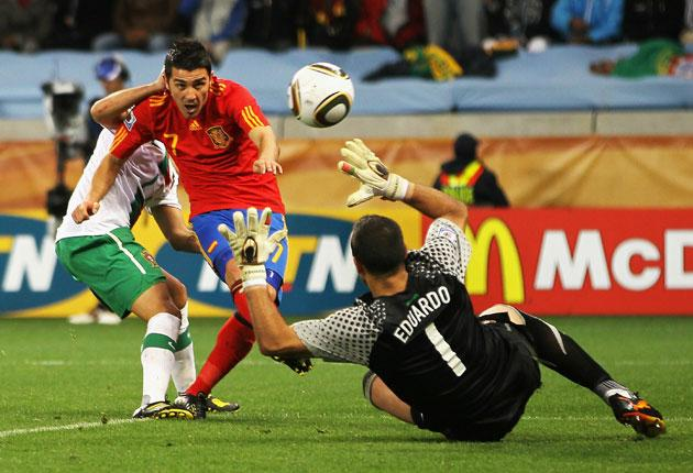 If David Villa scores tonight he could end up with the Golden Boot and Golden Ball for being top scorer and player of the tournament - but then so could Holland's Wesley Sneijder