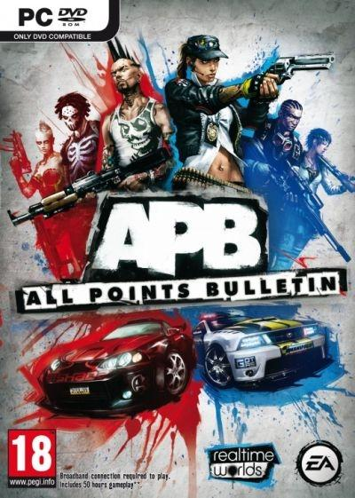 'APB: All Points Bulletin,' a game by David Jones of Grand Theft Auto and Crackdown fame