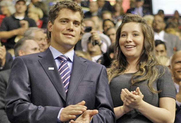 Levi Johnston and Bristol Palin publicly supported Sarah Palin's election campaign in 2008
