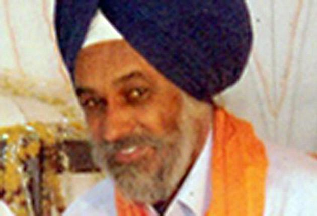 Rulda Singh was murdered a year ago. Indian police accused a Sikh militant group in Britain of plotting the killing