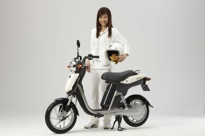 Yamaha's EC-03 electric scooter