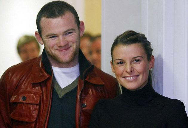 Wayne Rooney and his wife Coleen who found out today the result of a £4.3m claim against him