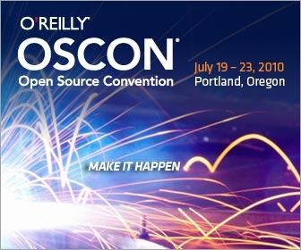 OSCON Open Source Conference web banner 2010