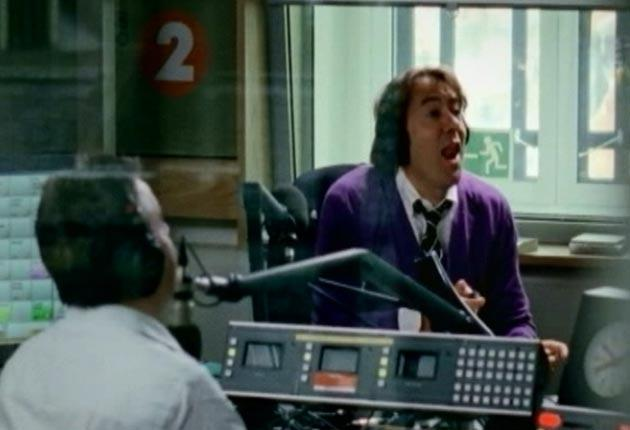 The last Jonathan Ross show on Radio 2 is broadcast today
