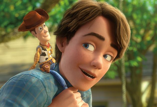 Friend in me: Andy, now 17, is off to college, which means Woody and friends are off to the attic...or worse