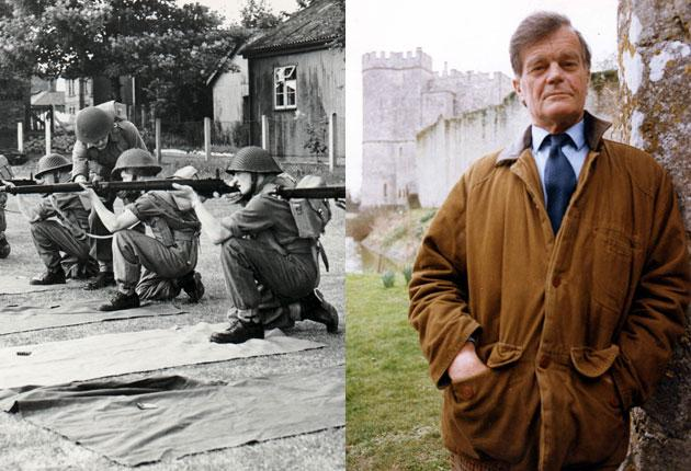 Alan Clark, the former Tory defence minister whose evasion of national service, left, has been revealed