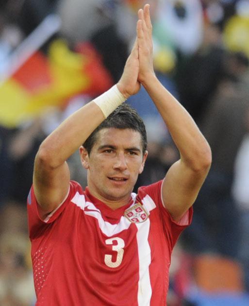 Aleksandar Kolarov is a target for City according to reports