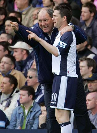 Martin Jol and Robbie Keane worked together at Tottenham