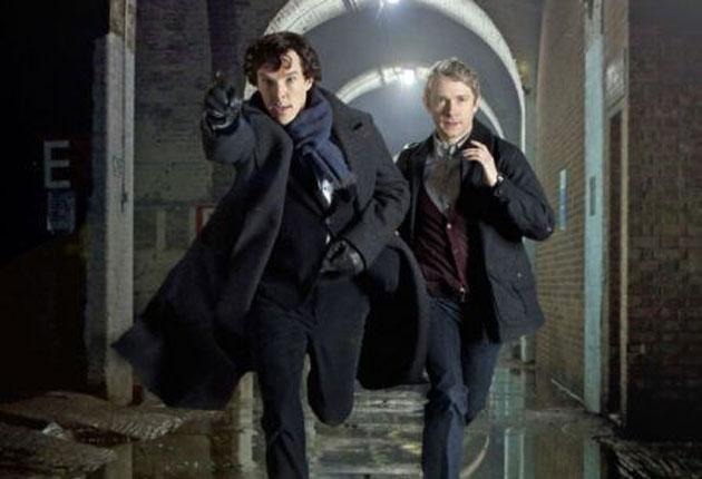 The latest run: Benedict Cumberbatch and Martin Freeman