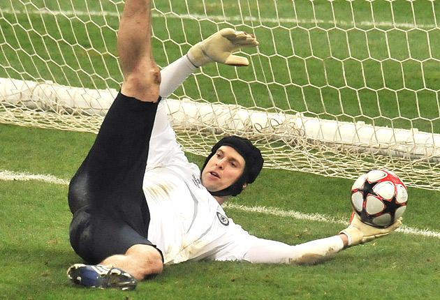 Cech missed four weeks of last season, also due to a calf injury