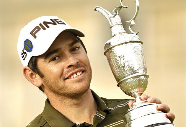 Winning The Open has been a life-changing experience for Louis Oosthuizen