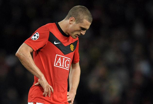 Nemanja Vidic has two years remaining on his contract but reports that his wife is unhappy in Manchester could lead to United offloading the defender