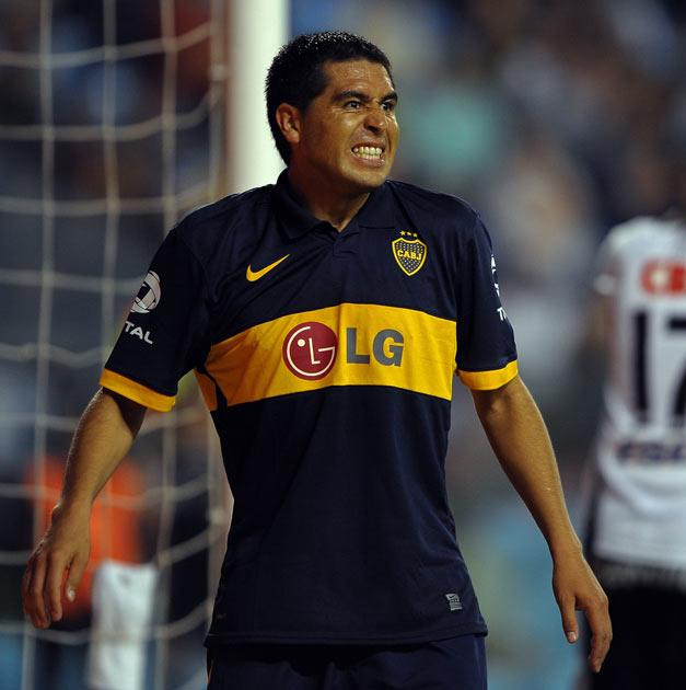 <b>Juan Roman Riquelme</b><br/> An exciting proposition in midfield is Juan Roman Riquelme. The Argentinean international is currently a free agent after his contract ran down at Boca Juniors. The 32-year-old is best known for his time in Spain with Villa