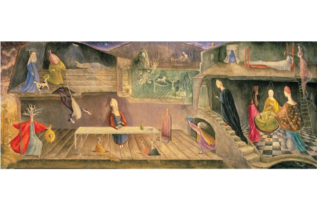 Bosch job: A detail from Leonora Carrington's The House Opposite