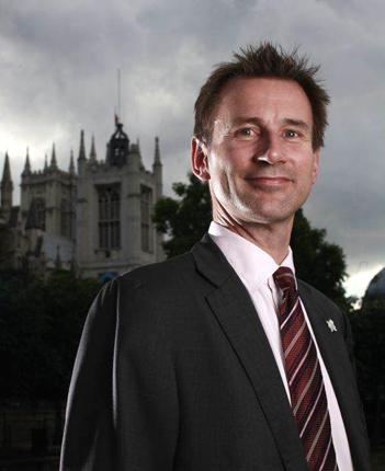Jeremy Hunt blames Labour for the 'financial mess' that prevents his department from providing more sports facilities