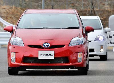 The Toyota Prius is virtually silent when running in all-electric mode.