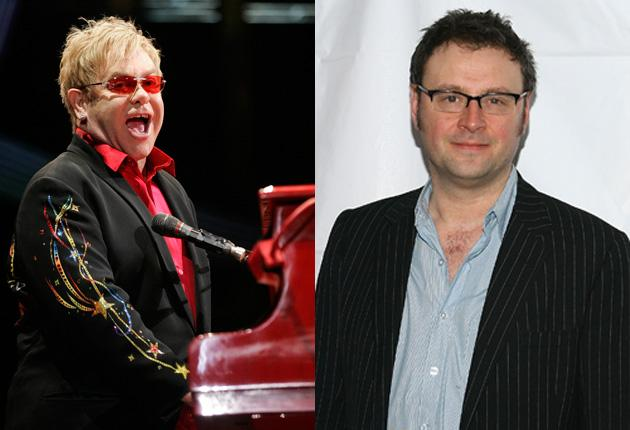 Sir Elton John may write the score for a musical of George Orwell's Animal Farm – and hopes Lee Hall, right, will provide the lyrics