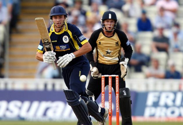 James Vince played the key hand yesterday,