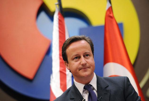 David Cameron said Turkey was vital for the UK's economy, security and diplomacy