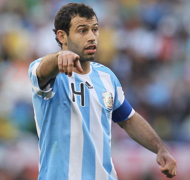 Mascherano has been linked with a move to Inter Milan