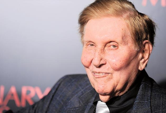Billionaire media mogul Sumner Redstone, whose romantic entanglements have become the talk of Hollywood