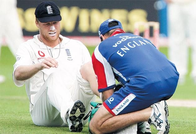 Injuries have been a recurrent theme throughout Flintoff's career, even during his great summer of 2005
