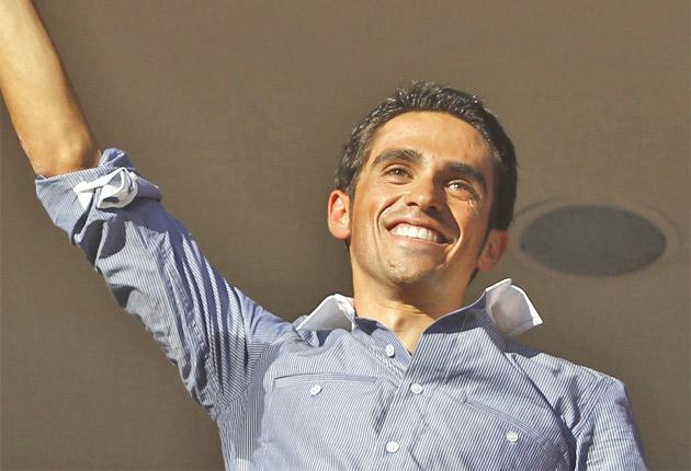Tour de France winner Alberto Contador will ride for Saxo Bank next year