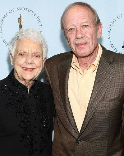Mankiewicz with his stepmother, Rosemary, in 2009