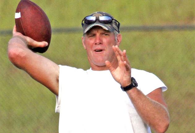 Brett Favre has considered ending his playing career every summer since 2002