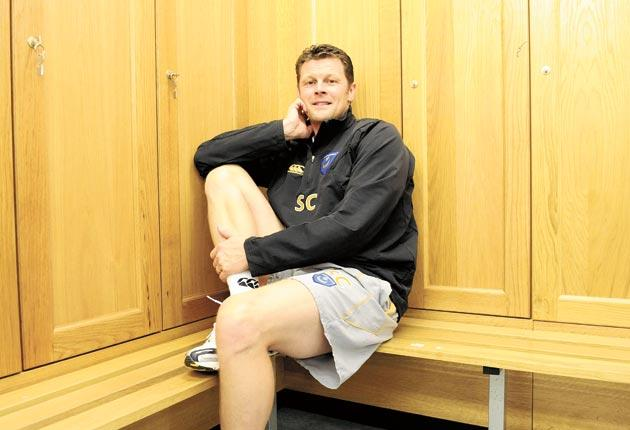 'I work hard and that is what gets me my rewards in football,' says Steve Cotterill