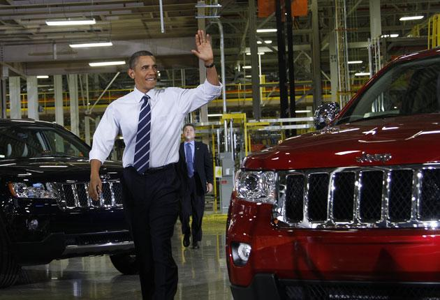 President Barack Obama visited the Jefferson North Chrysler plant in Detroit in late July, where the Jeep Grand Cherokee is assembled. Italian car-maker Fiat now controls the company