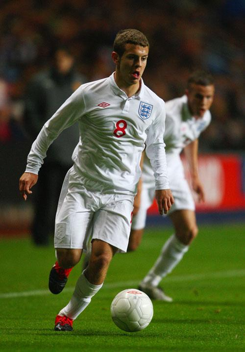 Arsenal's 18-year-old midfielder Jack Wilshere has received his first senior England call-up