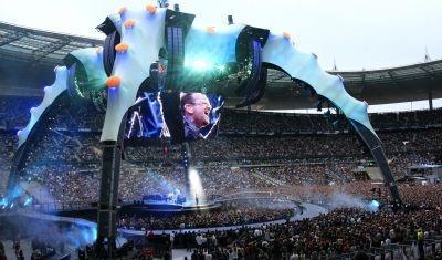 U2's 360-degree tour at Paris's Stade de France in 2009