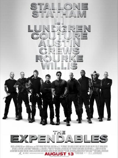'The Expendables' movie poster