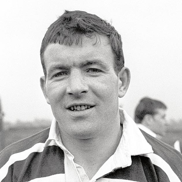 Dooler in 1967 in the run-up to the Challenge Cup final
