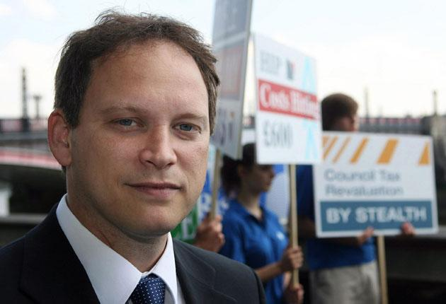 Grant Shapps, the Housing minister, unveiled plans for a 'Community Right To Build'