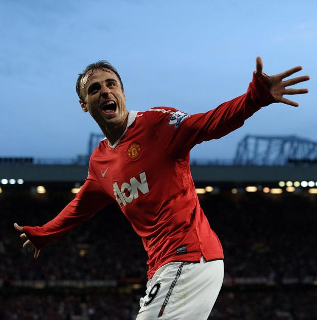 Berbatov opened the scoring for United