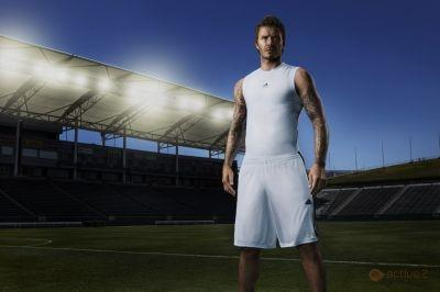 David Beckham is to help promote the 'EA Sports Active 2' game