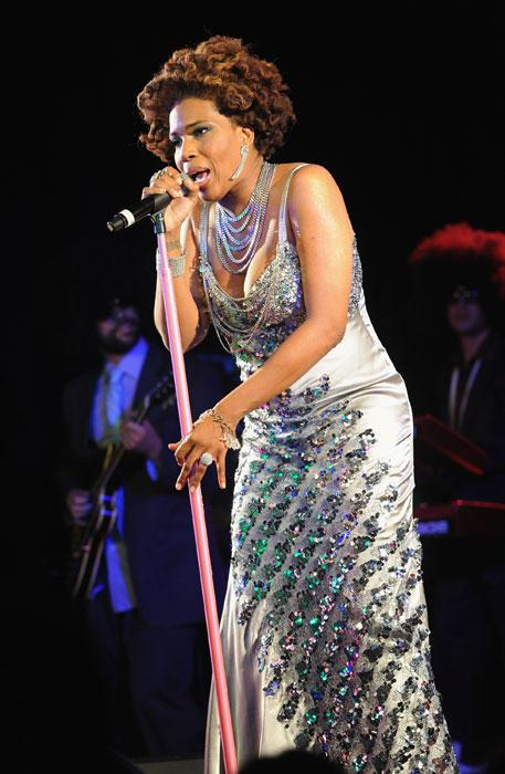Macy Gray performing live at the Leicester Square Theatre in July