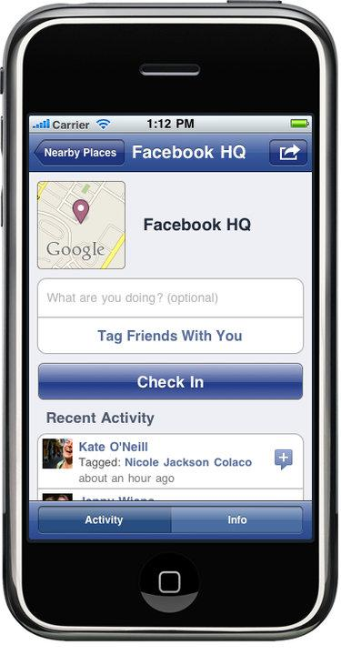 Facebook plans to further integrate its social network on mobile phones.