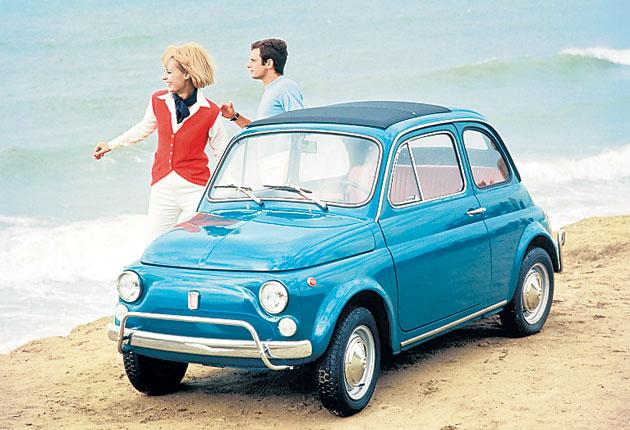 Back to the future: the classic Fiat 500 has been reinvented for a new generation