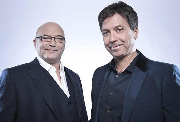 MasterChef presenters Gregg Wallace and John Torode