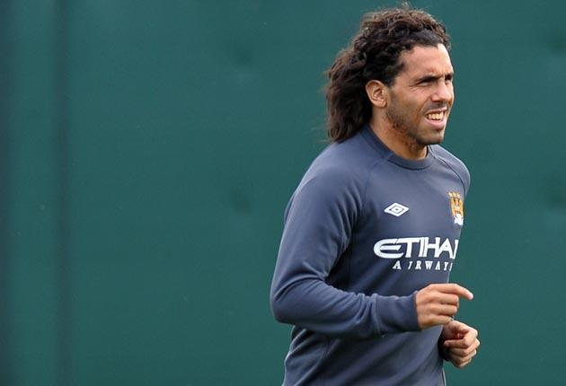 Carlos Tevez offers City plenty of attacking threat