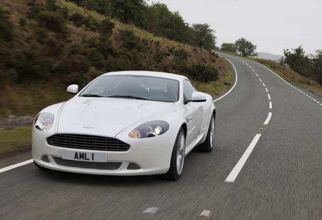 On track: A new suspension system, magnificent engine, and a racier look make the latest DB9 the car it always promised to be